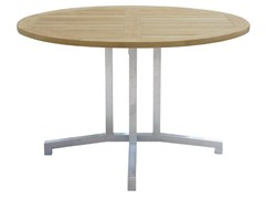 - Round steel garden table LUNAR | Round garden table - Il Giardino di Legno