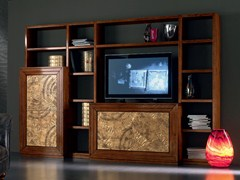 - Sectional gold leaf storage wall ÉTOILE DAY | Gold leaf storage wall - Cantiero