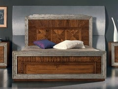 - Solid wood double bed ÉTOILE NIGHT | Double bed - Cantiero