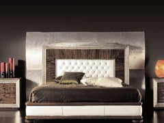 - Wooden double bed ÉTOILE NIGHT | Wooden bed - Cantiero