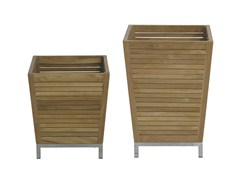 - Wooden planter OZONE | Wooden planter - Il Giardino di Legno