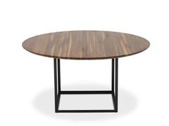 - Extending round walnut table JEWEL TABLE | Walnut table - dk3