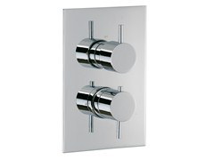 - 2 hole thermostatic shower mixer with diverter X-CHANGE_MONO | Thermostatic shower mixer with diverter - Rubinetterie 3M