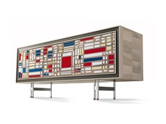 - Wooden sideboard with doors A-616 | Sideboard - Dale Italia