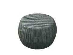 - Synthetic fibre garden pouf / garden side table SENTOSA | Garden pouf - Il Giardino di Legno