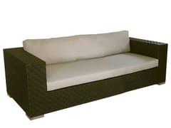 - 2 seater synthetic fibre garden sofa MAUI | 2 seater garden sofa - Il Giardino di Legno