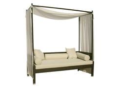 - Canopy synthetic fibre garden sofa MAUI | Canopy garden sofa - Il Giardino di Legno