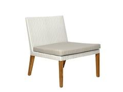 - Synthetic fibre garden armchair FIJI | Garden armchair - Il Giardino di Legno