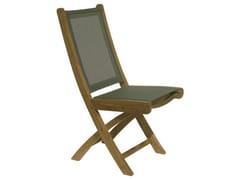 - Folding Batyline® garden chair MACAO | Folding garden chair - Il Giardino di Legno