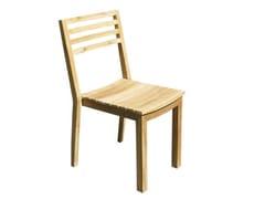 - Wooden garden chair BISTROT | Garden chair - Il Giardino di Legno