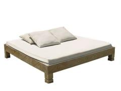 - Double wooden garden bed SENTOSA | Garden bed - Il Giardino di Legno