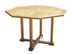- Wooden garden table BRISTOL | Garden table - Il Giardino di Legno