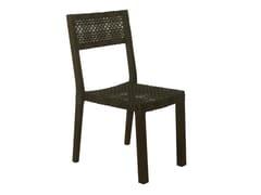 - Synthetic fibre garden chair KROSS | Garden chair - Il Giardino di Legno