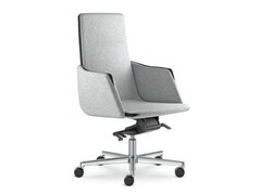 - Swivel medium back executive chair with armrests HARMONY | Height-adjustable executive chair - LD Seating
