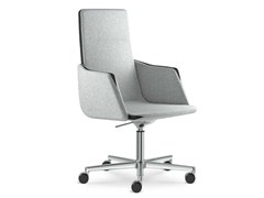 - Height-adjustable swivel executive chair with armrests HARMONY | Executive chair with casters - LD Seating
