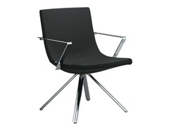 - Upholstered easy chair with armrests MOON | Easy chair with armrests - LD Seating