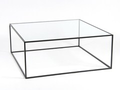 - Low square coffee table for living room STRAND | Low coffee table - Dare Studio