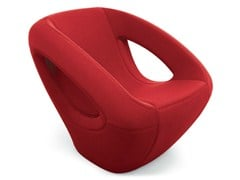 - Fabric lounge Chair SEASER SOFT - Lonc