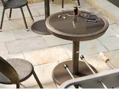 - Round cast iron garden side table PAPAYA | Round garden side table - Roberti Rattan