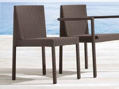- Stackable aluminium garden chair SAINT TROPEZ   Garden chair - Roberti Rattan