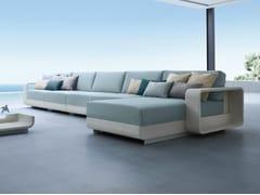 - Sectional modular aluminium garden sofa HAMPTONS | Sectional garden sofa - Roberti Rattan