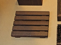- Countertop wooden soap dish WO STS - DECOR WALTHER