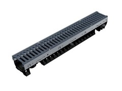 - Drainage channel and part PLASTIC FLY 100 LOW - GRIDIRON GRIGLIATI