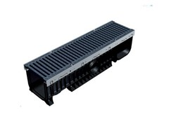 - Drainage channel and part PLASTIC FLY 200 - GRIDIRON GRIGLIATI