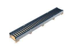 - Drainage channel and part POLY FLY 100 LOW - GRIDIRON GRIGLIATI