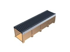 - Drainage channel and part POLY FLY 200 - GRIDIRON GRIGLIATI