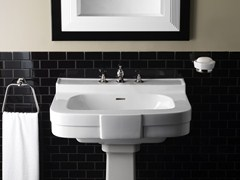 - Pedestal ceramic washbasin BOGART - Devon&Devon