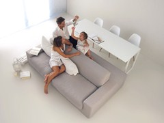 - Sofa / table ISOLAGIORNO™ CLASS+SLIM - LAYOUT ISOLAGIORNO™ by Farm