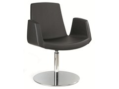 - Swivel easy chair with armrests JOLLY | Easy chair with armrests - Ares Line