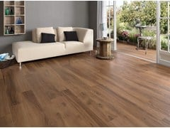 - Ecological frost proof wall/floor tiles with wood effect EVOKE BROWN - CERAMICHE KEOPE