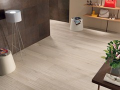 - Ecological frost proof wall/floor tiles with wood effect EVOKE IVORY - CERAMICHE KEOPE