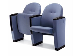 - Auditorium seats with writing tablet METROPOLITAN OPERÀ - Ares Line
