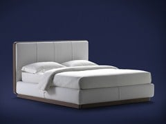 - Double bed with upholstered headboard ERMES | Double bed - Flou