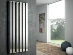 - Wall-mounted chrome decorative radiator STEP V - IRSAP