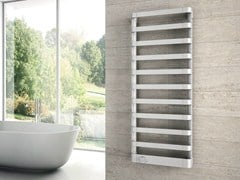 - Wall-mounted chrome decorative radiator STEP E - IRSAP