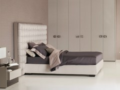 - Double bed with high headboard SANYA | Bed with high headboard - Flou