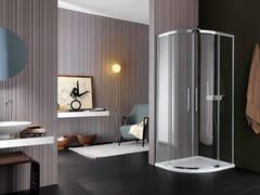 - Glass shower cabin VIS | Semicircular shower cabin - Samo