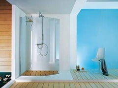 - Shower cabin with tray OPEN SURF - Samo