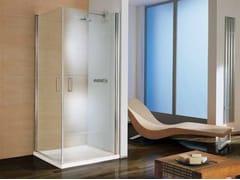 - Corner shower cabin with tray POLARIS DREAM | Corner shower cabin - Samo
