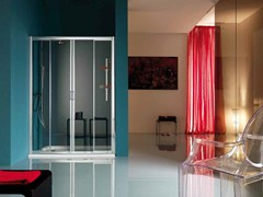 - 2 places niche shower cabin with tray AMERICA | Niche shower cabin - Samo