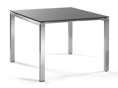 - Square garden table TRENTO | Square garden table - MANUTTI