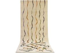 - Handmade rug FALLING RIBBONS   Rectangular rug - Deirdre Dyson