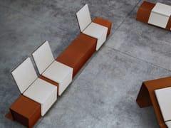 - Corten™ Bench CORTOMADERE | Bench - Metalco