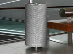 - Stainless steel waste bin SPENCER ST - Metalco