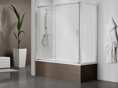 - Crystal bathtub wall panel DUKESSA-S 3000 | Bathtub wall panel - DUKA