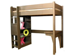 - Loft bed NEW CLASSICS | Loft bed - Mathy by Bols